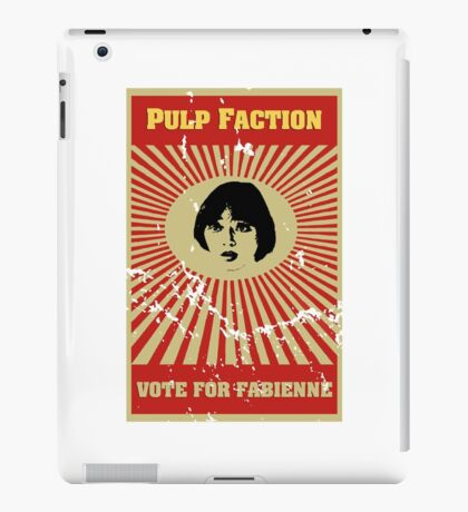 Pulp Faction - Fabienne iPad Case/Skin