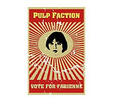 Pulp Faction - Fabienne Photographic Print