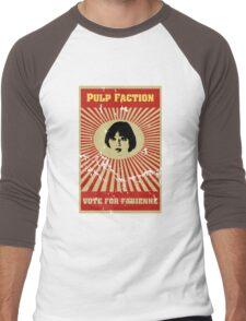 Pulp Faction - Fabienne Men's Baseball ¾ T-Shirt