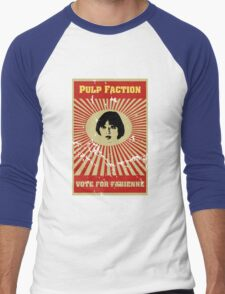 Pulp Faction - Fabienne Men's Baseball ¾ T-Shirt