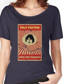 Pulp Faction - Fabienne Women's Relaxed Fit T-Shirt