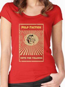 Pulp Faction - Yolanda Women's Fitted Scoop T-Shirt