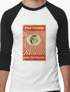 Pulp Faction - Yolanda Men's Baseball ¾ T-Shirt