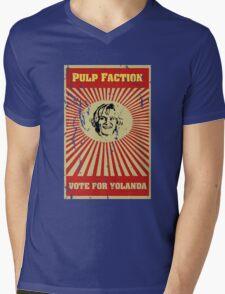 Pulp Faction - Yolanda Mens V-Neck T-Shirt