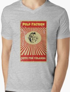 Pulp Faction - Yolanda Mens V-Neck T-Shirt