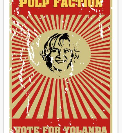 Pulp Faction - Yolanda Sticker