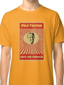 Pulp Faction - Pumpkin Classic T-Shirt