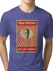 Pulp Faction - Pumpkin Tri-blend T-Shirt