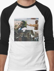 FLATBUSH ZOMBIES COLLAGE Men's Baseball ¾ T-Shirt