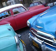 Retro cars, Cuban style by Cameron Grant