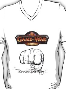 GAME OF WAR: FIRE AGE - REV REVOLUTION BABY! T-Shirt