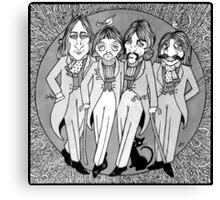 The Gentlemen of Abbey Road Canvas Print