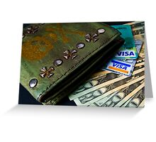 Money Money Greeting Card