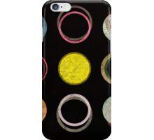12 circles iPhone Case/Skin