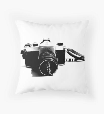 Asahi Pentax Throw Pillow