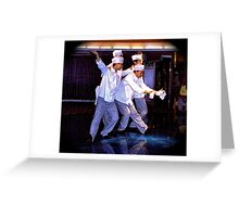 Happy Chefs Greeting Card