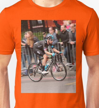 Bradley Wiggins - 2014 Tour of Britain Unisex T-Shirt