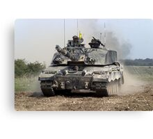 Challenger 2 Main Battle Tank (MBT) British Army Canvas Print