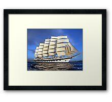 Royal Clipper Framed Print