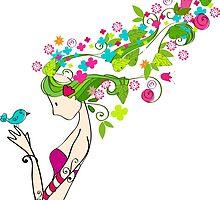 Flower Girl by skycn520