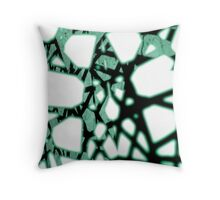 The Matrix Suspends above the Void Throw Pillow