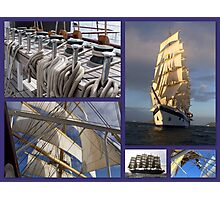 Sailing collage Photographic Print