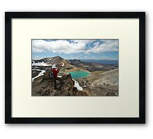mountaineer Framed Print