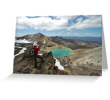 mountaineer Greeting Card