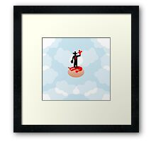 Nietzsche according to a mouse Framed Print