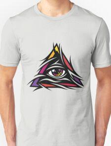 Illuminati Color - Trippy - Simple Unisex T-Shirt