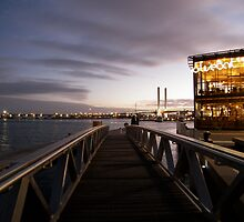 Melbourne Docklands at Sunset by Maryanne Fenech-Gatt