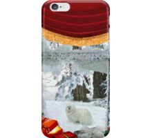 Snowdrop the Maltese & Santa's Elf iPhone Case/Skin