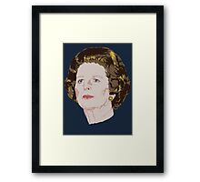 Margaret Thatcher Framed Print