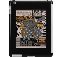 Build Your Boss - Motorball iPad Case/Skin