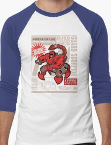 Build Your Boss - Guard Scorpion Men's Baseball ¾ T-Shirt