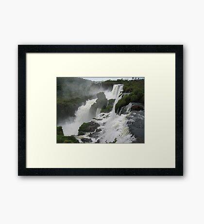 Iguacu - Brazil Framed Print