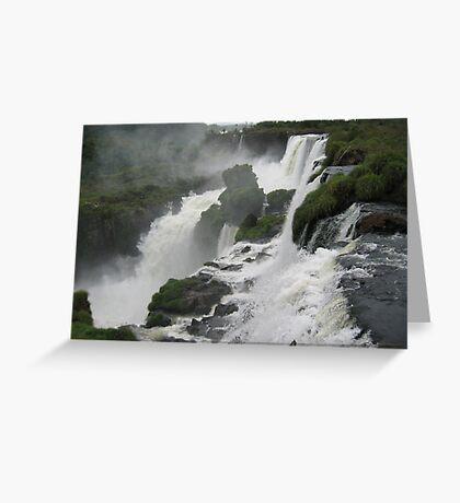 Iguacu - Brazil Greeting Card