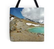 emerald lakes Tote Bag