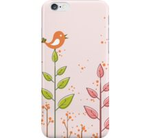 Birds dialogue iPhone Case/Skin
