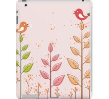 Birds dialogue iPad Case/Skin
