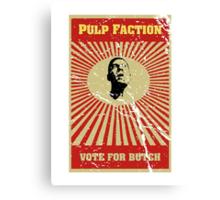 Pulp Faction - Butch Canvas Print