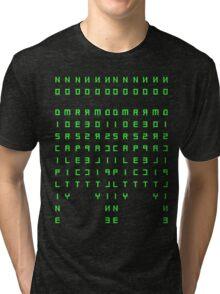 No Discipline, No Morality, No Respect Tri-blend T-Shirt