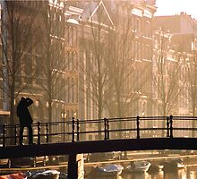 Amsterdam bridge by artsMark