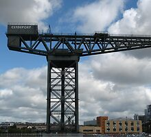 Finnieston Crane  Glasgow  by Muncher