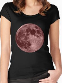 Pink Moon Women's Fitted Scoop T-Shirt