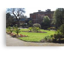 Exeter Garden Canvas Print