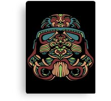 Darth Vader Rainbow Canvas Print