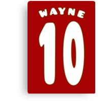 Wayne Rooney Style 10 (2) Canvas Print