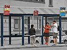 10:55:52 AM at the bus stop by awefaul