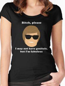 Fabulous Ken  Women's Fitted Scoop T-Shirt